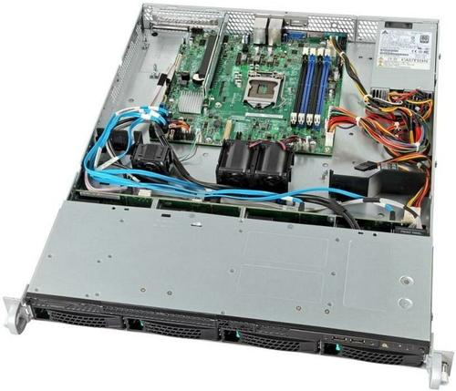 Intel R1304RPMSHOR platforma rack 1U/C226/4xU DIMM/2xLAN/4xHDD HS/2x450W/mng. (opcja)