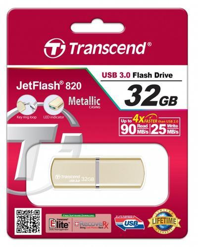 Transcend JETFLASH 820 32GB USB3.0 Luxary Series 90/25 MB/s