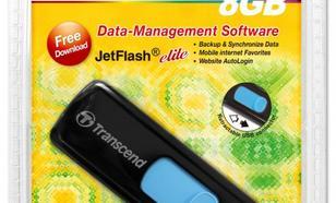 Transcend JETFLASH 500 8GB USB2.0 BLACK
