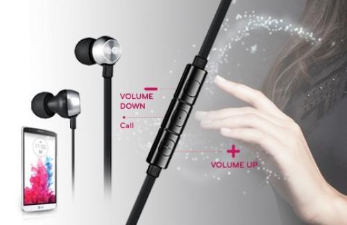 LG Słuchawki kablowe LG HSS-530 Black