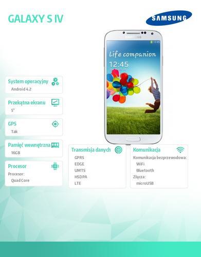Samsung I9505 GALAXY S IV White LTE