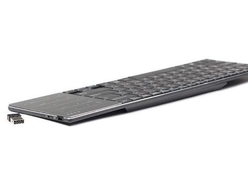 GEMBIRD Klawiatura bezprzewodowa 2.4GHz z Touchpadem PHOENIX Slimline Black