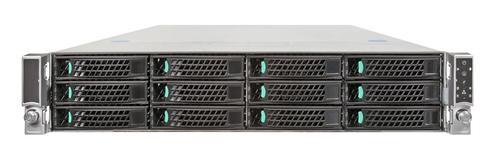 Intel R2312IP4LHPC platforma rack 2U/2xE5-2600 16xDDR3/2x750W/12xHDD