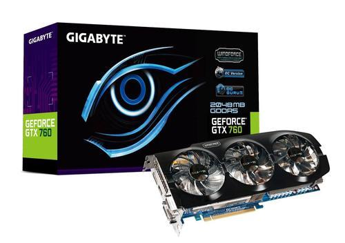 Gigabyte GV-N760OC-2GD