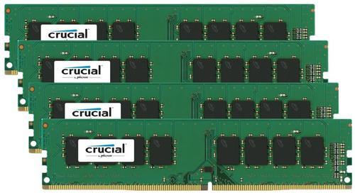 Crucial DDR4 16GB/2133(4*4GB) CL15 SR x8 288pin