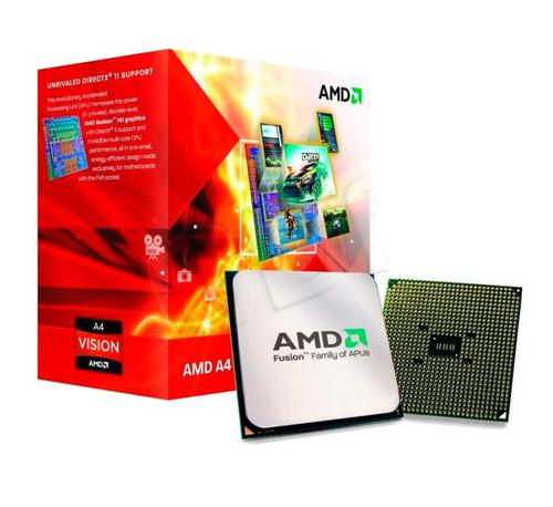 AMD APU X4 A6-3670 2.7GHz BOX (FM1) (100W)