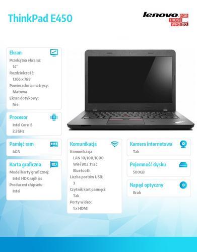 Lenovo ThinkPad E450 20DC007SPB