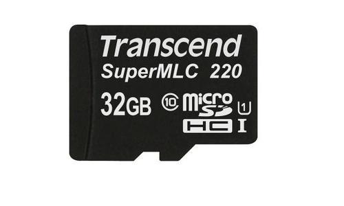 TRANSCEND microSD SuperMLC 220