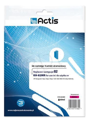 Actis KH-82MR tusz magenta do drukarki HP (zamiennik HP 82 C4912A) Standard