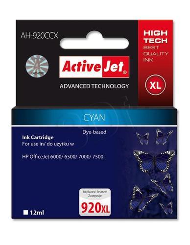 ActiveJet AH-920CCX tusz cyan do drukarki HP (zamiennik HP 920XL CD972AE) Premium