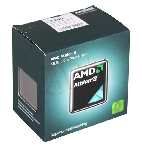 AMD Athlon II X2 250 BOX (AM3) (65W,45NM)