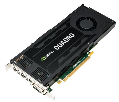 HP NVIDIA Quadro K4200 4GB 2xDP 1xDVI J3G89AA