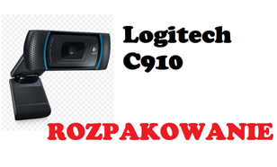 Logitech C910 Webcam [ROZPKOWANIE]