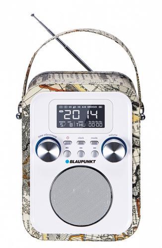 Blaupunkt PP20MP Przenośny radioodtwarzacz z Bluetooth i funkcją zegarka