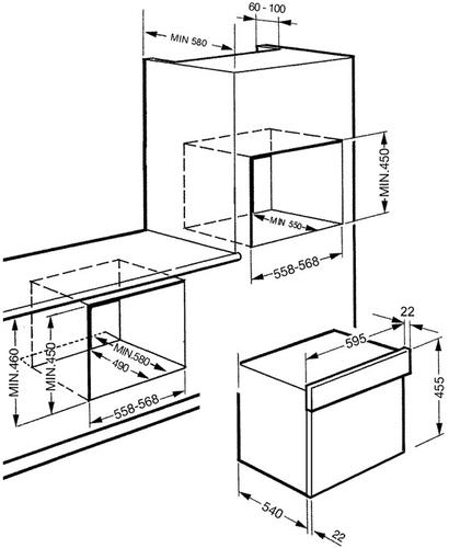 Smeg SC845MAO9 kuchenka mikrofalowa