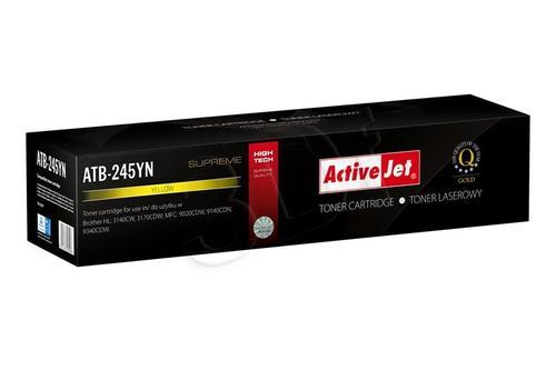 ActiveJet ATB-245YN toner Yellow do drukarki Brother (zamiennik Brother TN-245Y) Supreme