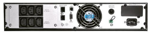 Lestar UPS MepRT-1000 ONLINE LCD RT 6xIEC USB RS RJ 45
