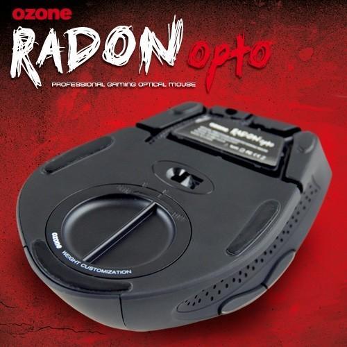 Ozone Radon 3K Mysz Laserowa dla graczy 3200dpi (philips laser)