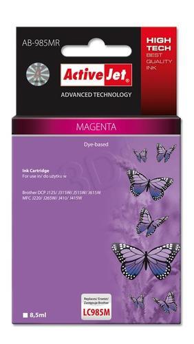 ActiveJet AB-985MR tusz magenta do drukarki Brother (zamiennik Brother LC985M) Premium