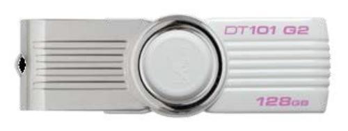 Kingston Data Traveler 101 Gen2 128GB USB2.0 White