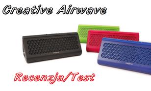 Creative Airwave - mobilna moc dźwięku!