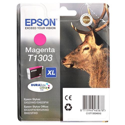 EPSON Tusz Czerwony T1303=C13T13034010, 10.1 ml