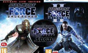 Saga Star Wars The Force Unleashed (Star Wars: The Force Unleashed - Ultimate Sith Edition i Star Wars: The Force Unleashed II)