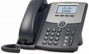 Cisco SPA512G Tel VoIP 1-Line 2x1GBE