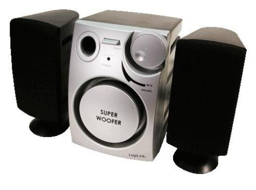 LogiLink Głośniki 2.1 stereo