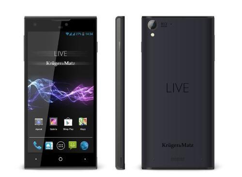 Kruger & Matz Smartfon LIVE 2 LTE black