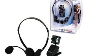 LogiLink Multimedialny zestaw kamera + sluchawki