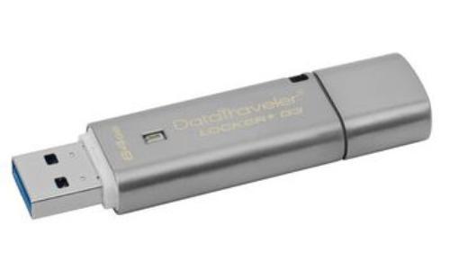 Kingston Data Traveler Locker G3 64GB UDB3 Data Security