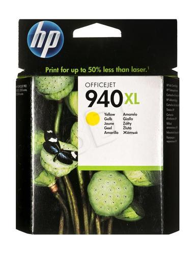 HP Tusz Żółty HP940XL=C4909AE, 1400 str., 16 ml