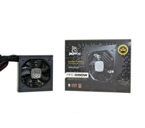 XFX Core TS 550W (80+ Bronze, 2xPEG, 120mm, Single Rail)