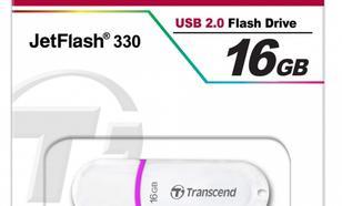 Transcend JETFLASH 330 16GB USB2.0 WHITE