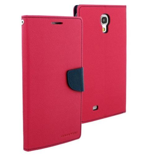 """WEL.COM Etui skórzane Fancy do Samsung Galaxy Tab 3 8"""", ciemny róż - granat"""