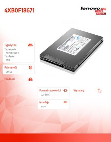"Lenovo ThinkStation 256GB SATA 2.5"" SSD"
