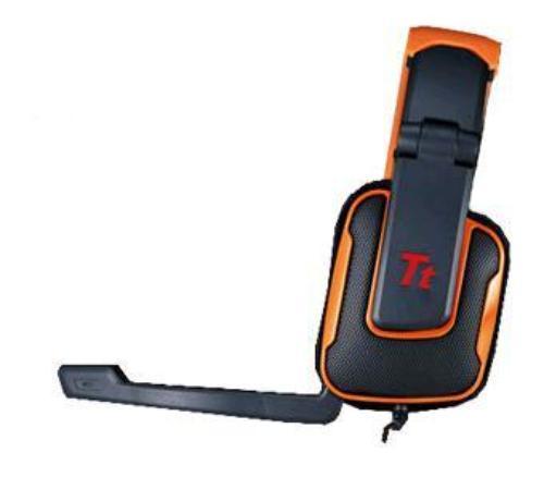 Thermaltake Tt eSPORTS Słuchawki dla graczy - Shock Dynamite Orange