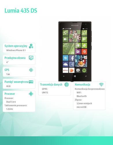 Microsoft Lumia 435 DS Black