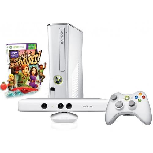 Zestaw Xbox 360 4GB + Kinect + Kinect Adventures