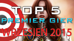 TOP 5 Premier Gier - Wrzesień 2015 - Metal Gear Solid V: The Phantom Pain, Mad Max