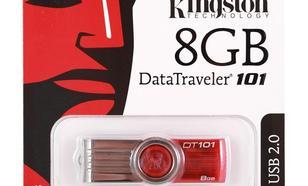 Kingston Data Traveler 101 Gen2 8GB USB2.0 Red