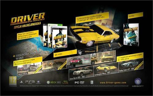 Driver San Francisco Edycja Kolekcjonerska