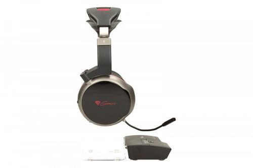 NATEC Słuchawki z mikrofonem bezprzewodowe GENESIS HV55 GAMING