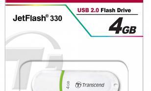 Transcend JETFLASH 330 4GB USB2.0 WHITE