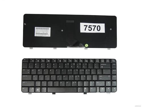Qoltec Klaw. do noteb. HP DV4-1000 BLACK
