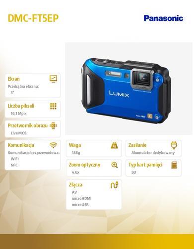 Panasonic DMC-FT5EP blue