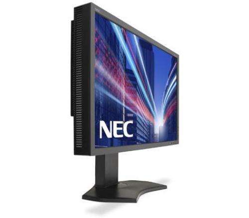 NEC 24'' LCD P242W IPS TFT, W-LED, DVI-D HDMI czarny