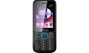 Media-Tech DUAL PHONE HQ TELEFON NA DWIE KARTY SIM CZARNO - NIEBIESKI