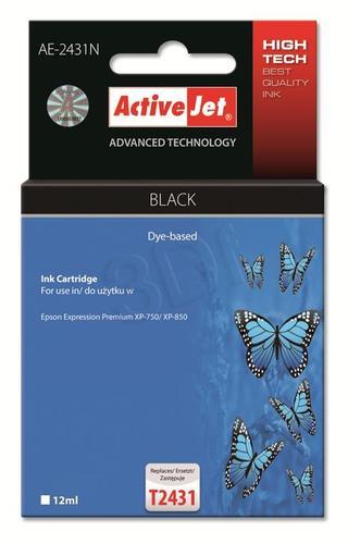 ActiveJet AE-2431N tusz czarny do drukarki Epson (zamiennik Epson T2431) Supreme